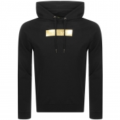 Product Image for Versace Jeans Label Hoodie Black