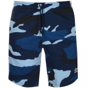 adidas Originals Camo Shorts Navy