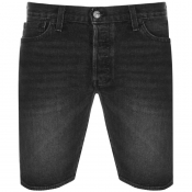 Product Image for Levis Original Fit 501 Denim Shorts Black