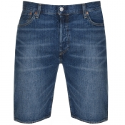 Levis Original Fit 501 Denim Shorts Blue
