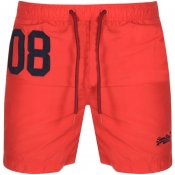 Product Image for Superdry Water Polo Swim Shorts Red