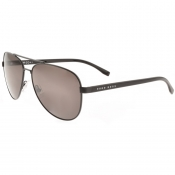 BOSS HUGO BOSS 0761 Aviator Sunglasses Black