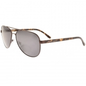 BOSS HUGO BOSS 0761 Aviator Sunglasses Brown