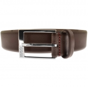 Product Image for HUGO Gellot Leather Belt Brown