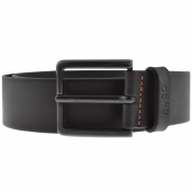 HUGO Gionio Leather Belt Black