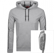 Product Image for HUGO Dercolano Hoodie Grey