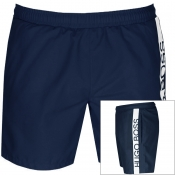 BOSS HUGO BOSS Dolphin Swim Shorts Navy
