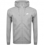 Product Image for Nike Full Zip Club Hoodie Grey