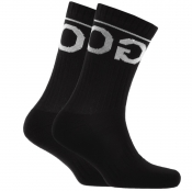 Product Image for HUGO Logo Sport Socks Black