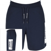 Product Image for Armani Exchange Logo Shorts Navy