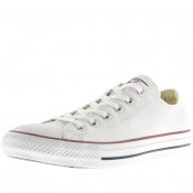 Product Image for Converse Chuck Taylor OX Leather Trainers White
