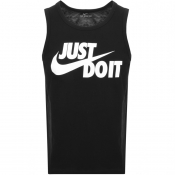 Product Image for Nike Just Do It Logo Vest T Shirt Black