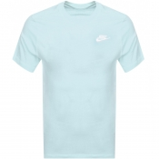 Product Image for Nike Crew Neck Club T Shirt Green