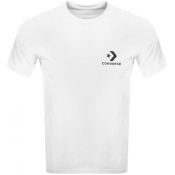 Product Image for Converse Star Chevron Logo T Shirt White
