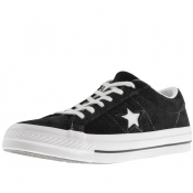 Product Image for Converse One Star Suede Trainers Black
