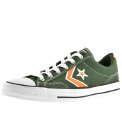 Product Image for Converse Star Player OX Trainers Green