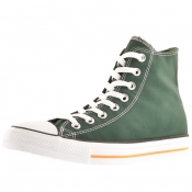 Converse All Star Hi Top Trainers Green