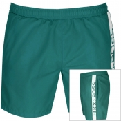 BOSS HUGO BOSS Dolphin Swim Shorts Green