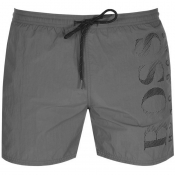 BOSS HUGO BOSS Octopus Swim Shorts Grey