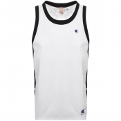 Product Image for Champion Crew Neck Logo Vest T Shirt White