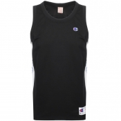 Product Image for Champion Crew Neck Logo Vest T Shirt Black