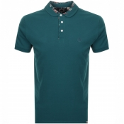 Product Image for Pretty Green Paisley Collar Polo T Shirt Blue