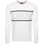 Product Image for HUGO Dicago 193 Sweatshirt White