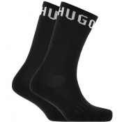 BOSS HUGO BOSS Two Pack Socks Black