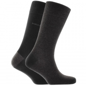 Product Image for BOSS HUGO BOSS Two Pack Socks Black