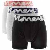 Money 3 Pack Chop Trunks Grey