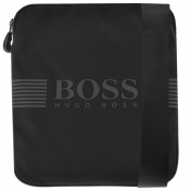 BOSS Athleisure Pixel Shoulder Bag Black