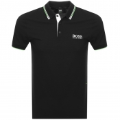 BOSS Athleisure Paddy Pro Polo T Shirt Black