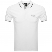BOSS Athleisure Paddy Pro Polo T Shirt White