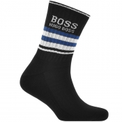 BOSS HUGO BOSS Logo Sport Socks Black