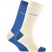 Product Image for BOSS HUGO BOSS Two Pack Socks Beige