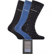 Product Image for BOSS HUGO BOSS Gift Set Three Pack Socks