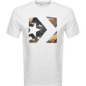 Product Image for Converse Star Chevron Box Logo T Shirt White