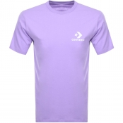 Product Image for Converse Star Chevron Logo T Shirt Lilac