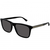 Gucci GG0381S 006 Sunglasses Black