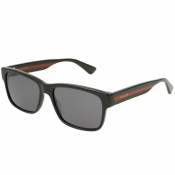 Gucci GG0340S 006 Sunglasses Black