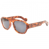 Moncler ML0096 56V Sunglasses Brown