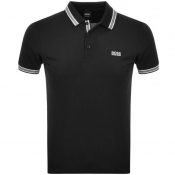 BOSS Athleisure Paddy Polo T Shirt Black