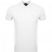 BOSS Athleisure Piro Polo T Shirt White