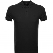 BOSS Athleisure Piro Polo T Shirt Black