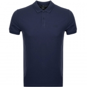 BOSS Athleisure Piro Polo T Shirt Navy