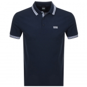 BOSS Athleisure Paddy Polo T Shirt Navy