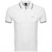 BOSS Athleisure Paddy Polo T Shirt White