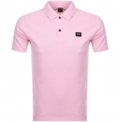 Product Image for Paul And Shark Short Sleeved Polo T Shirt Pink