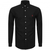 Product Image for Ralph Lauren Long Sleeved Slim Fit Shirt Black