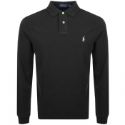 Product Image for Ralph Lauren Long Sleeved Polo T Shirt Blue